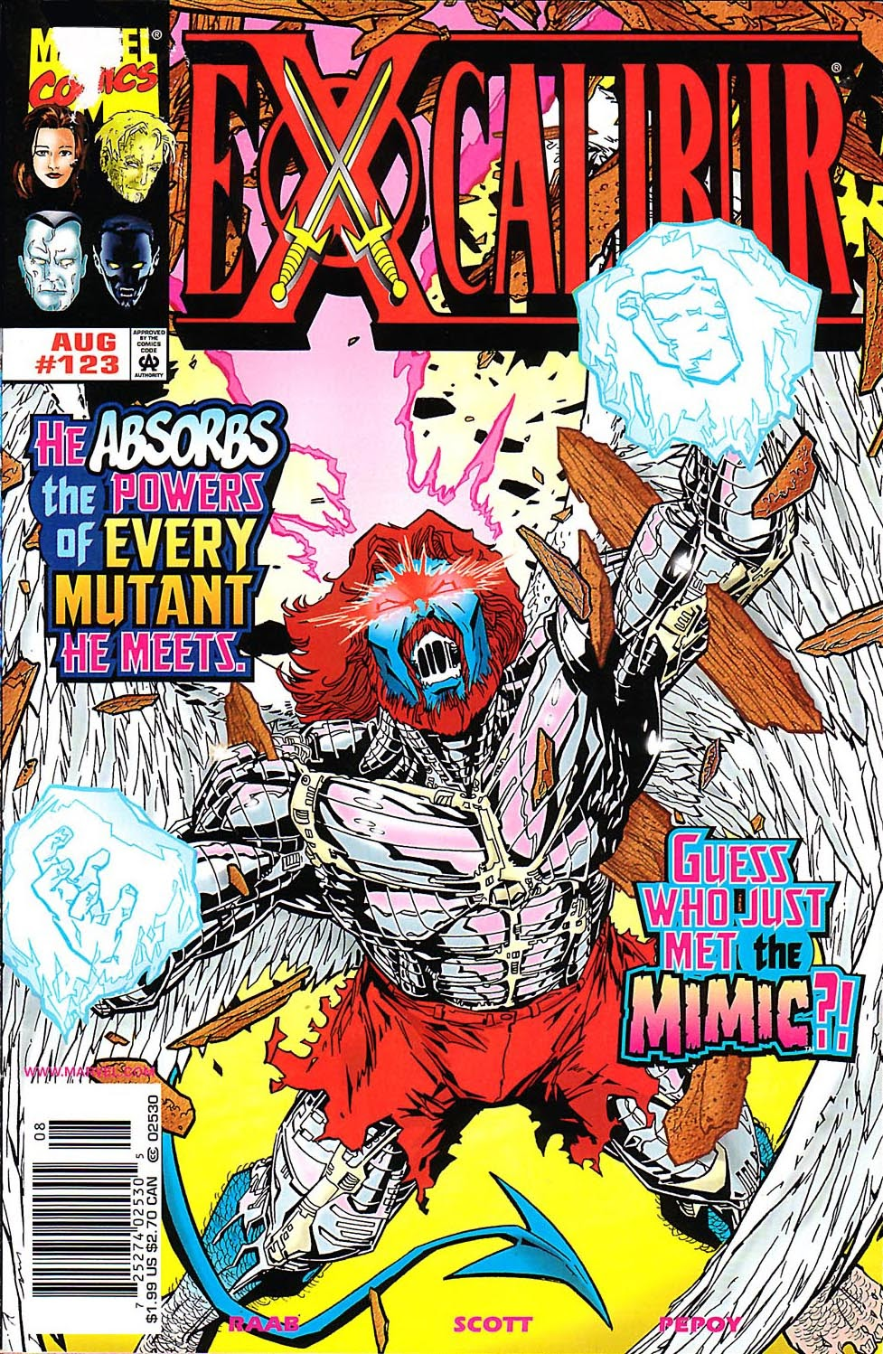 Excalibur (1988) issue 123 - Page 1