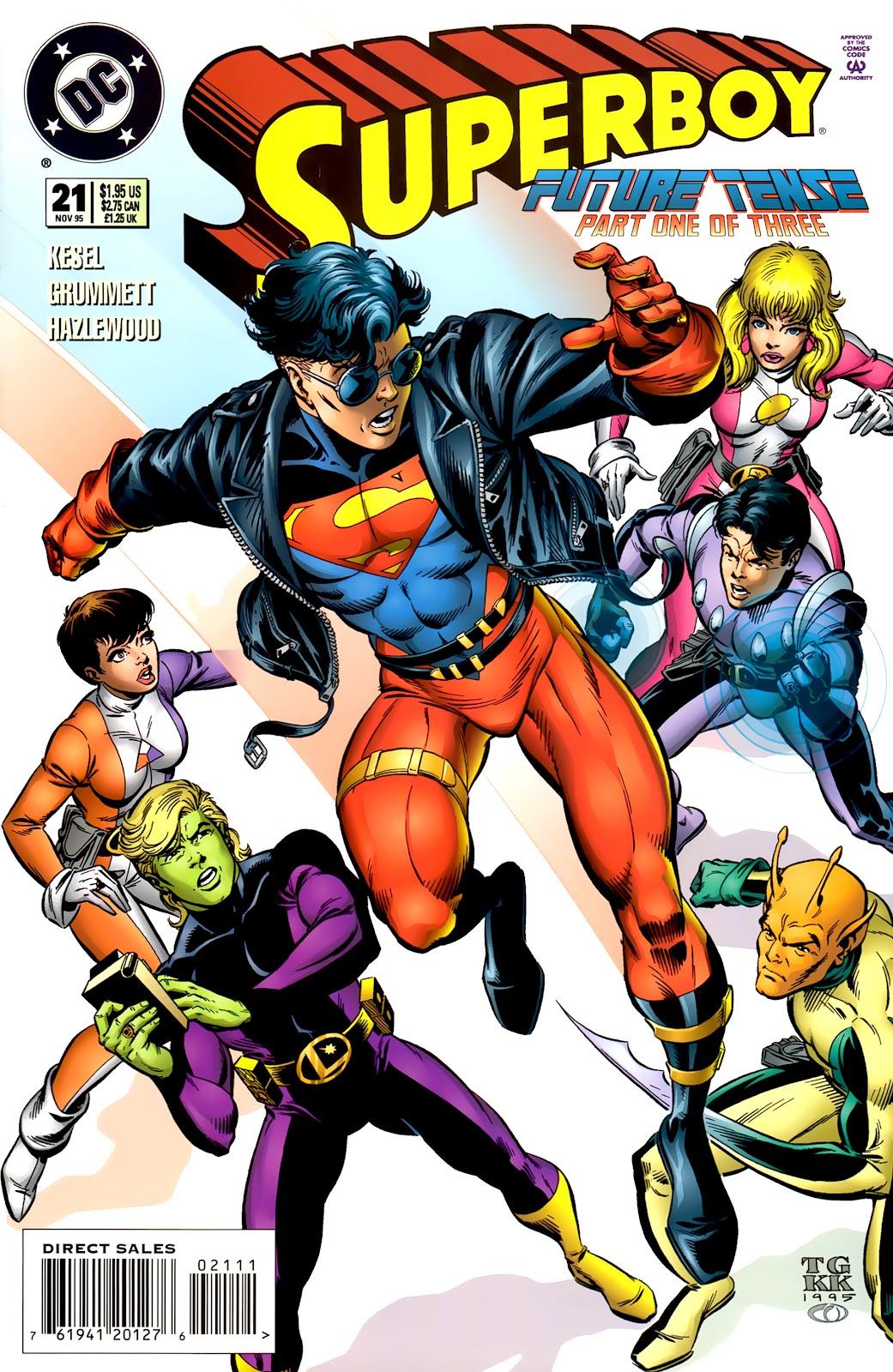 Superboy (1994) 21 Page 1