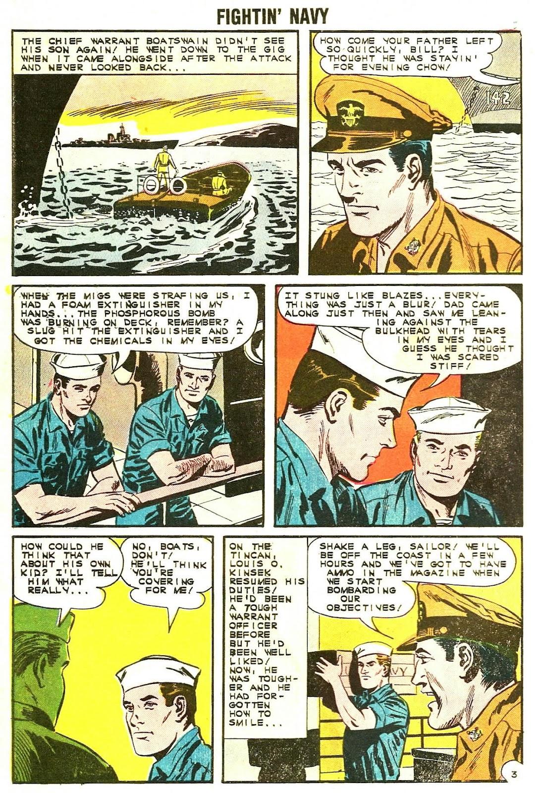 Read online Fightin' Navy comic -  Issue #107 - 10
