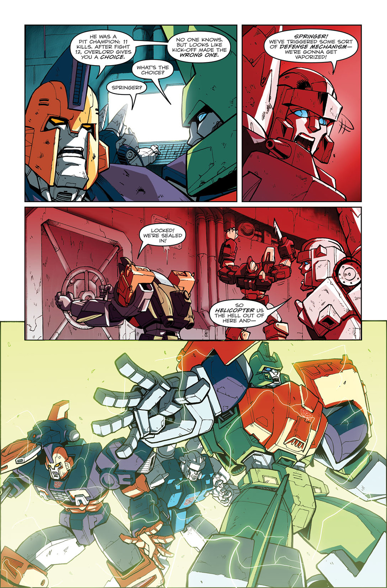 Read online Transformers: Last Stand of The Wreckers comic -  Issue #3 - 15