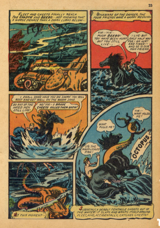 Read online Shadow Comics comic -  Issue #32 - 34