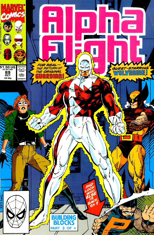 Read online Alpha Flight (1983) comic -  Issue #89 - 2