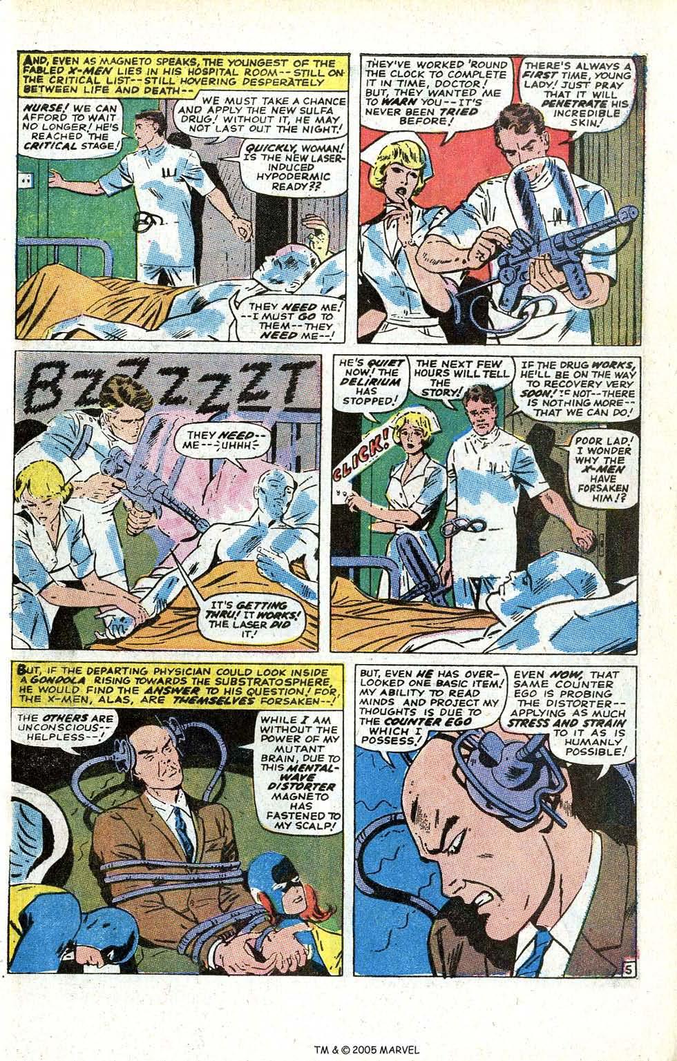 Uncanny X-Men (1963) issue 70 - Page 31