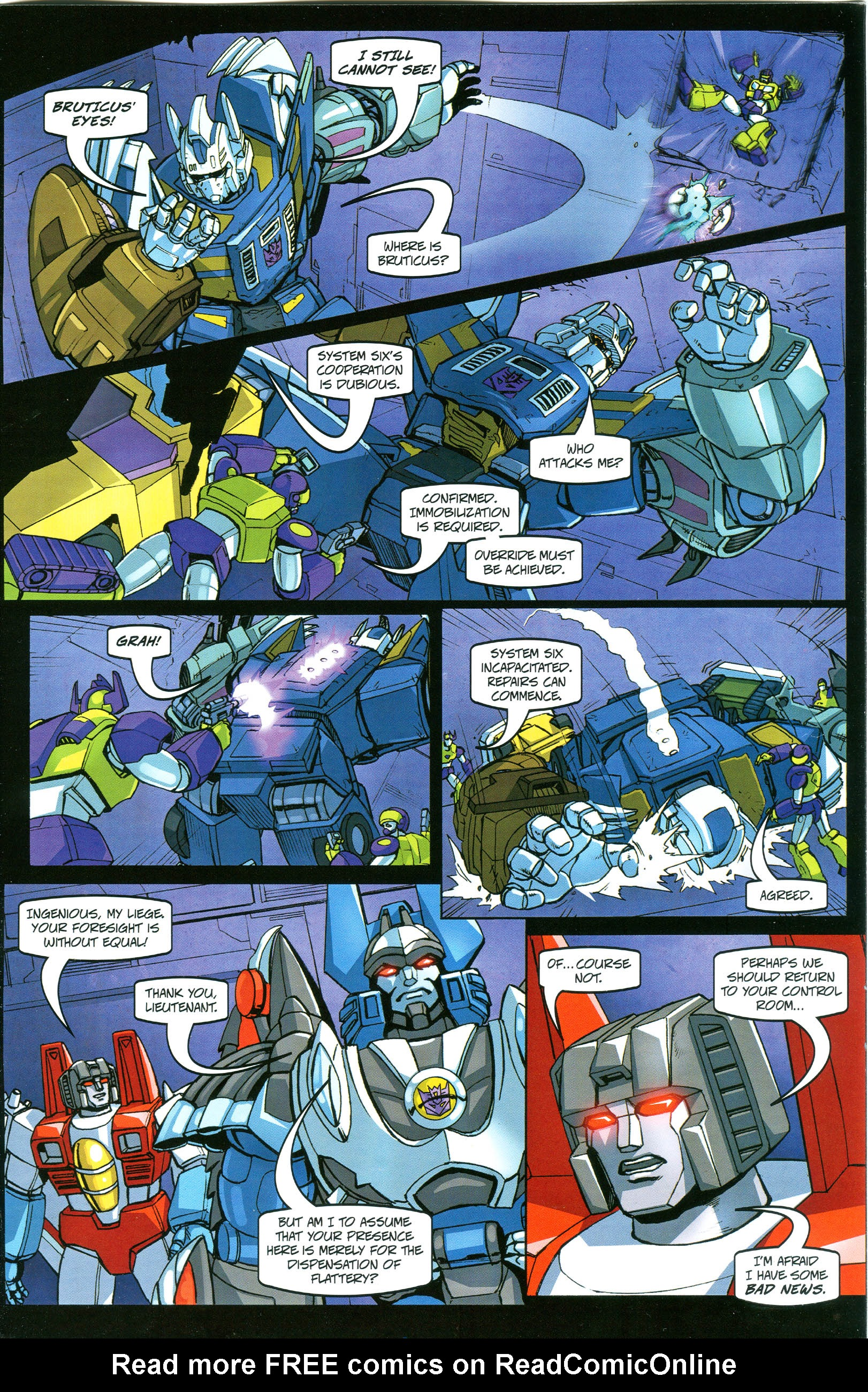 Read online Transformers: Collectors' Club comic -  Issue #38 - 13