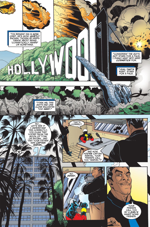 Captain Marvel (1999) Issue #1 #2 - English 14