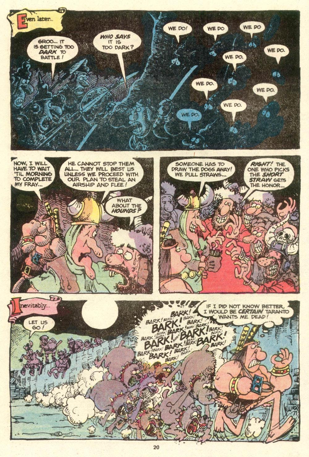Read online Sergio Aragonés Groo the Wanderer comic -  Issue #16 - 20