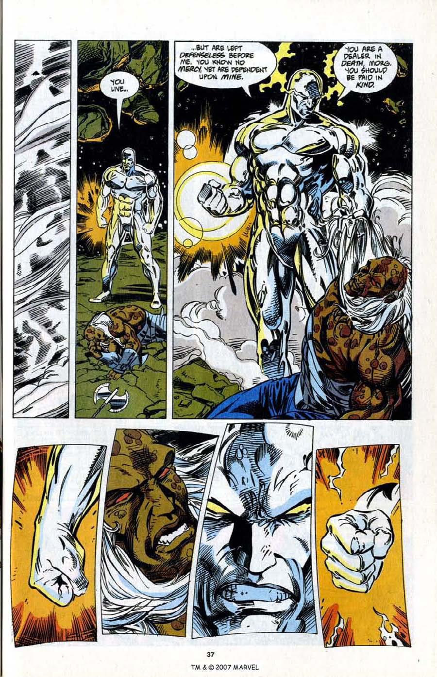 Read online Silver Surfer (1987) comic -  Issue # _Annual 7 - 39