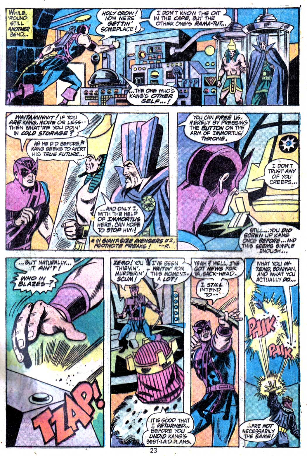 Giant-Size Avengers (1974) issue 3 - Page 25
