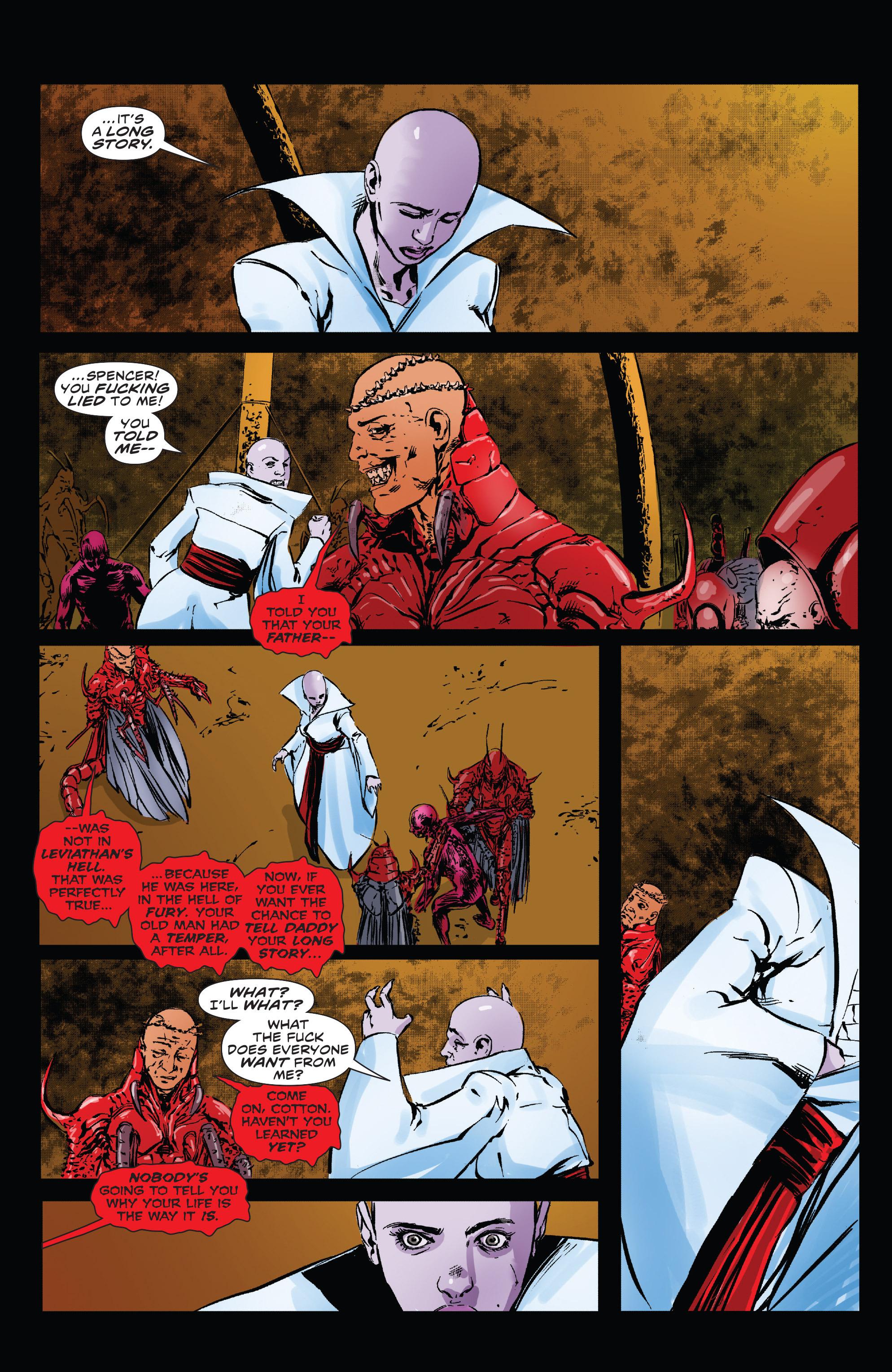Read online Clive Barker's Hellraiser: The Dark Watch comic -  Issue # TPB 3 - 99