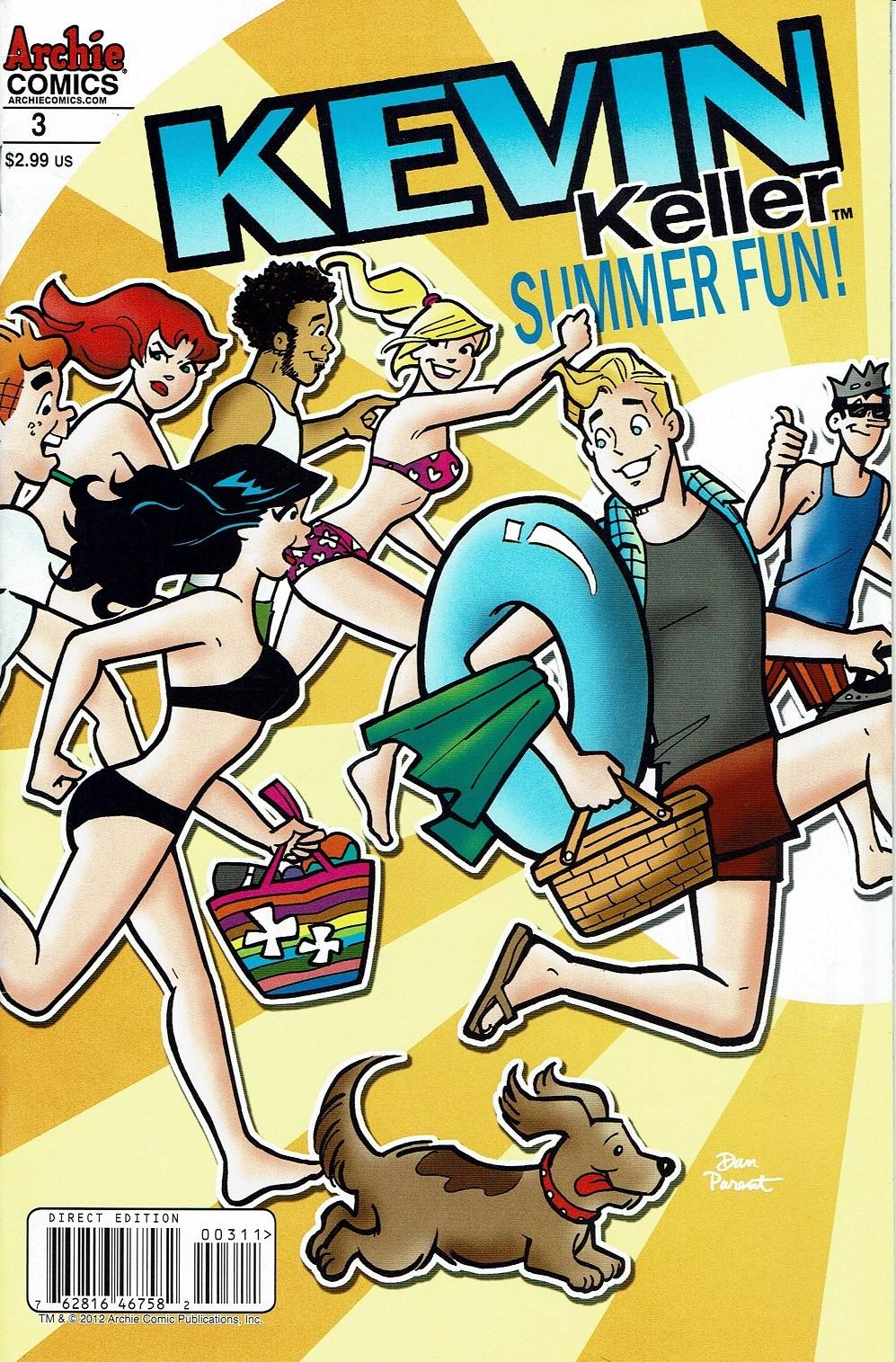 Read online Kevin Keller comic -  Issue #3 - 1