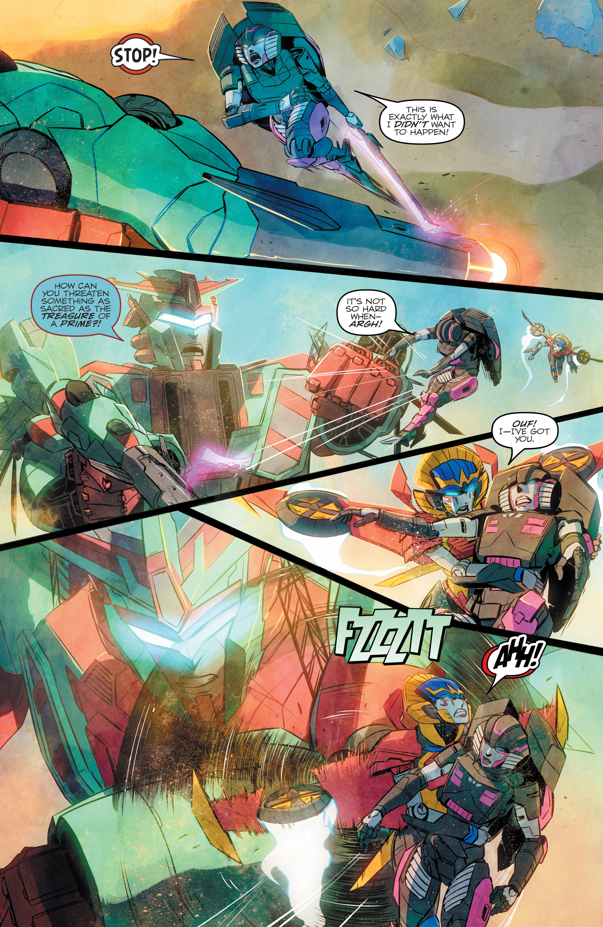 Read online Transformers: Combiner Hunters comic -  Issue # Full - 16