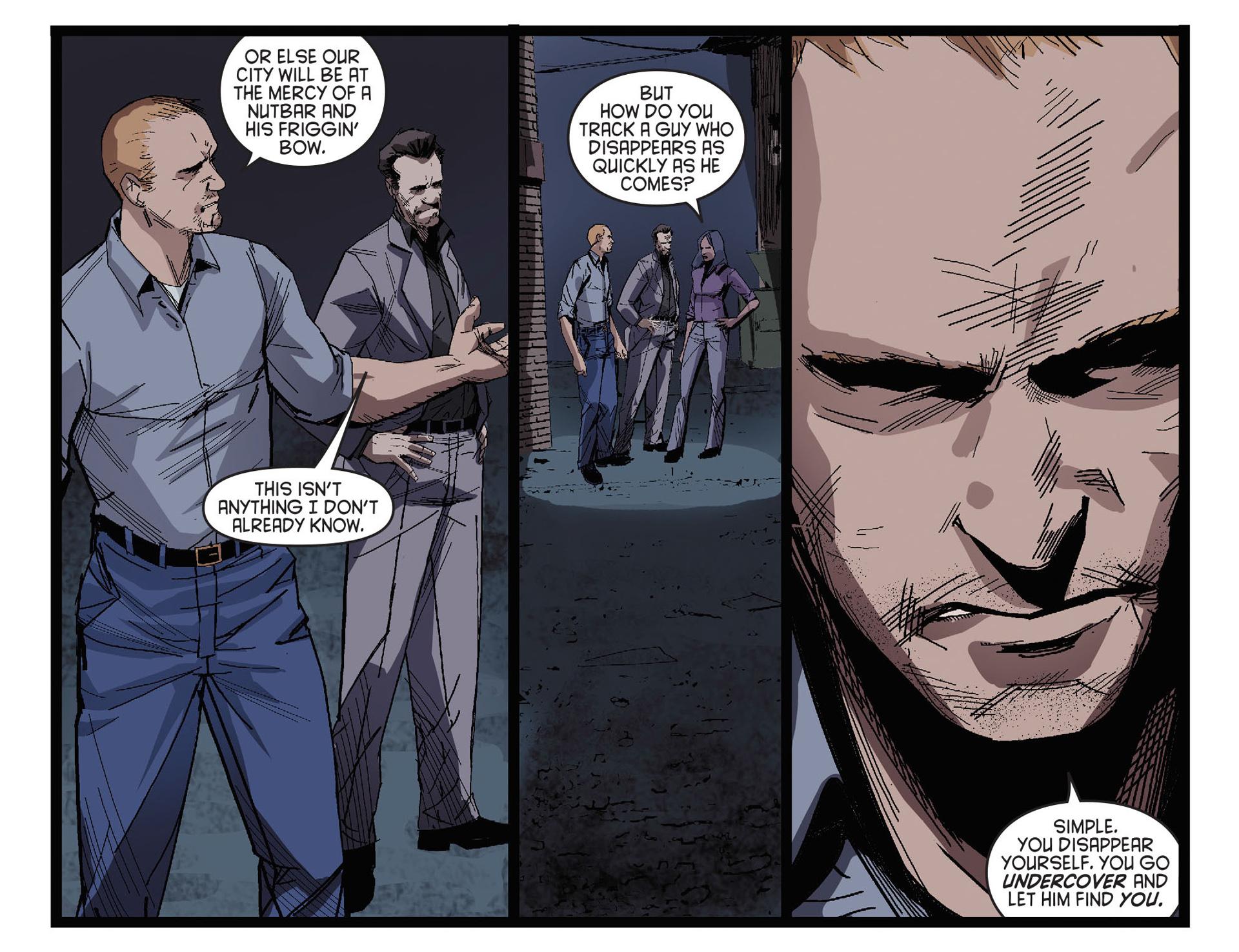 Read online Arrow [II] comic -  Issue #27 - 6