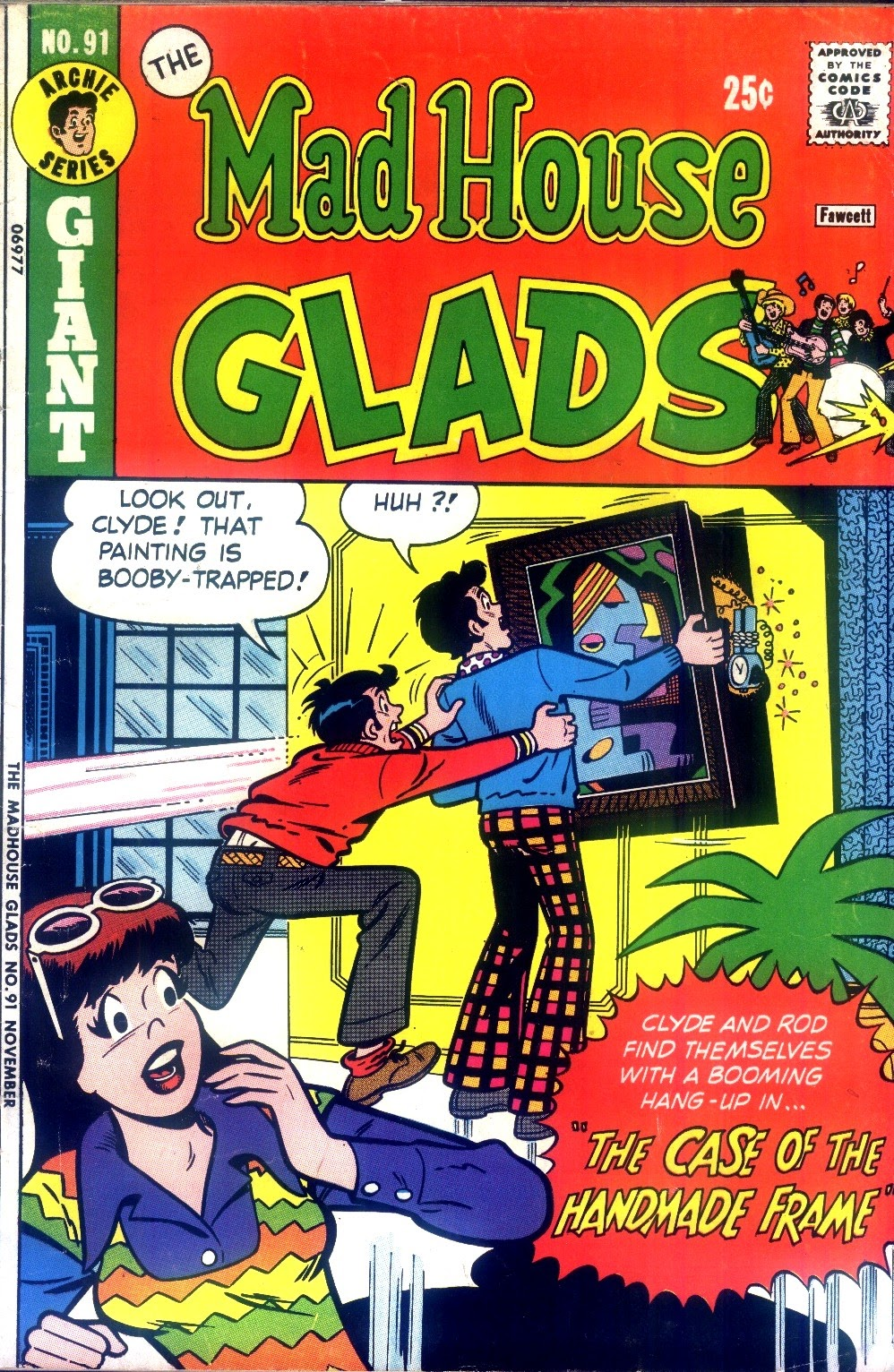 Read online The Mad House Glads comic -  Issue #91 - 1