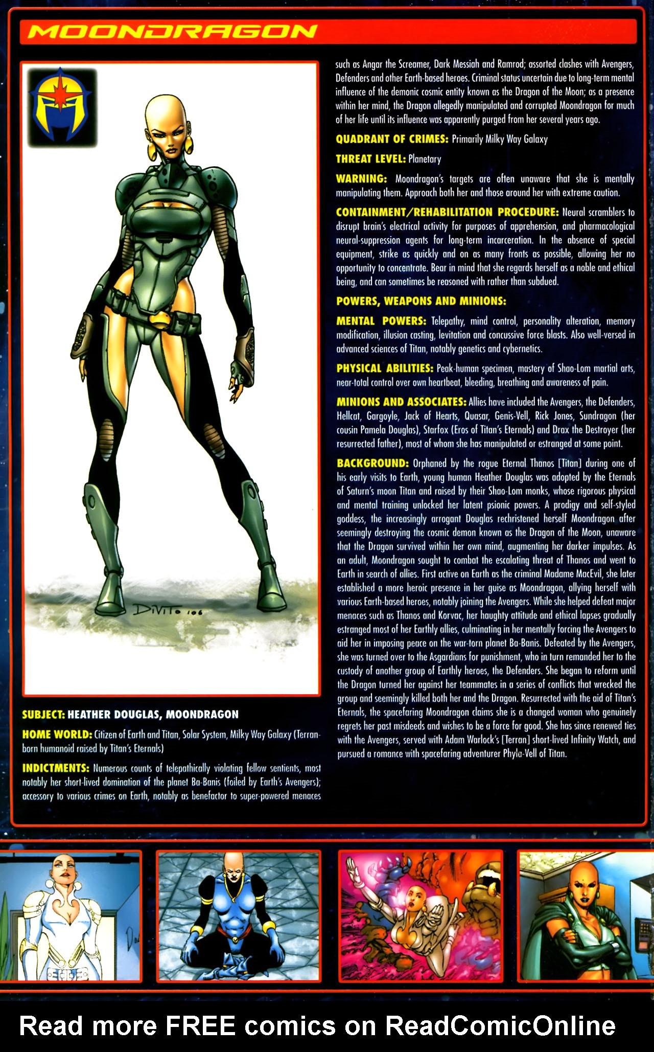 Read online Annihilation:  The  Nova Corps Files comic -  Issue #Annihilation:  The  Nova Corps Files Full - 20