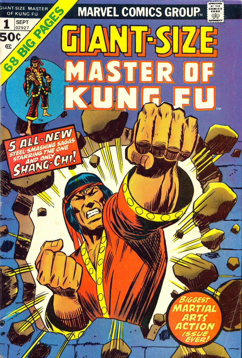 Read online Giant-Size Master of Kung Fu comic -  Issue #1 - 1