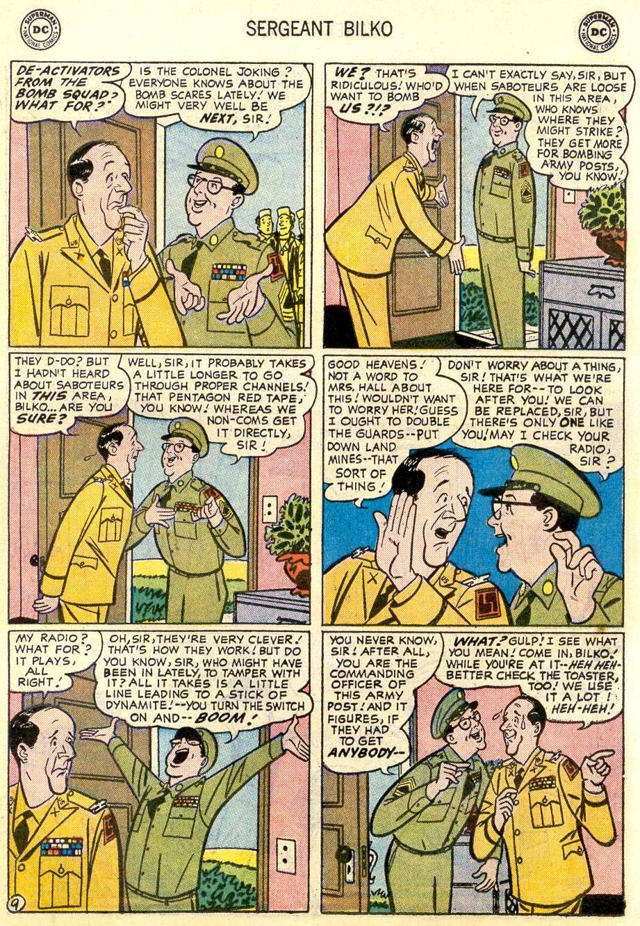 Sergeant Bilko issue 2 - Page 11