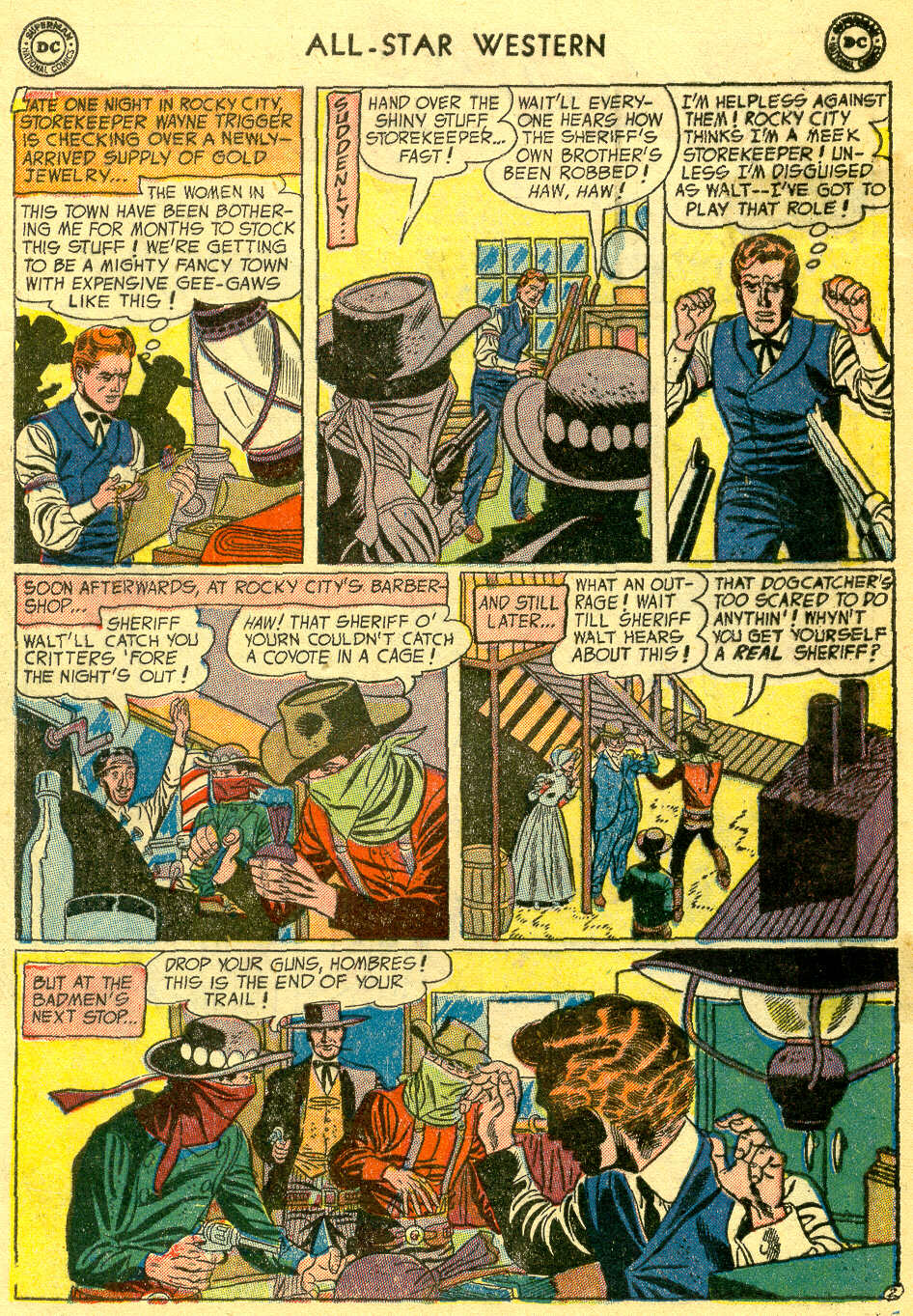 Read online All-Star Western (1951) comic -  Issue #78 - 4