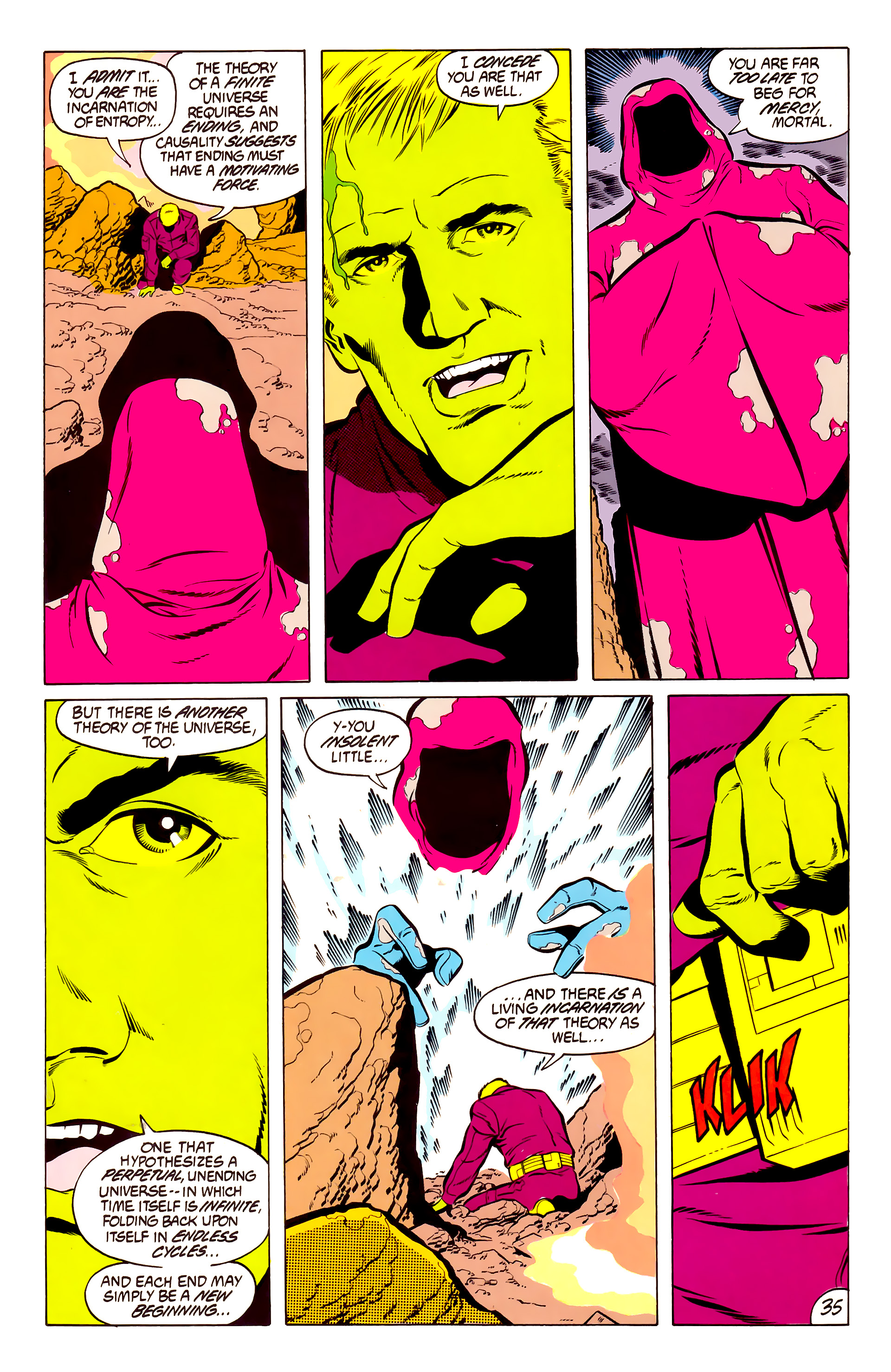 Legion of Super-Heroes (1984) 50 Page 34