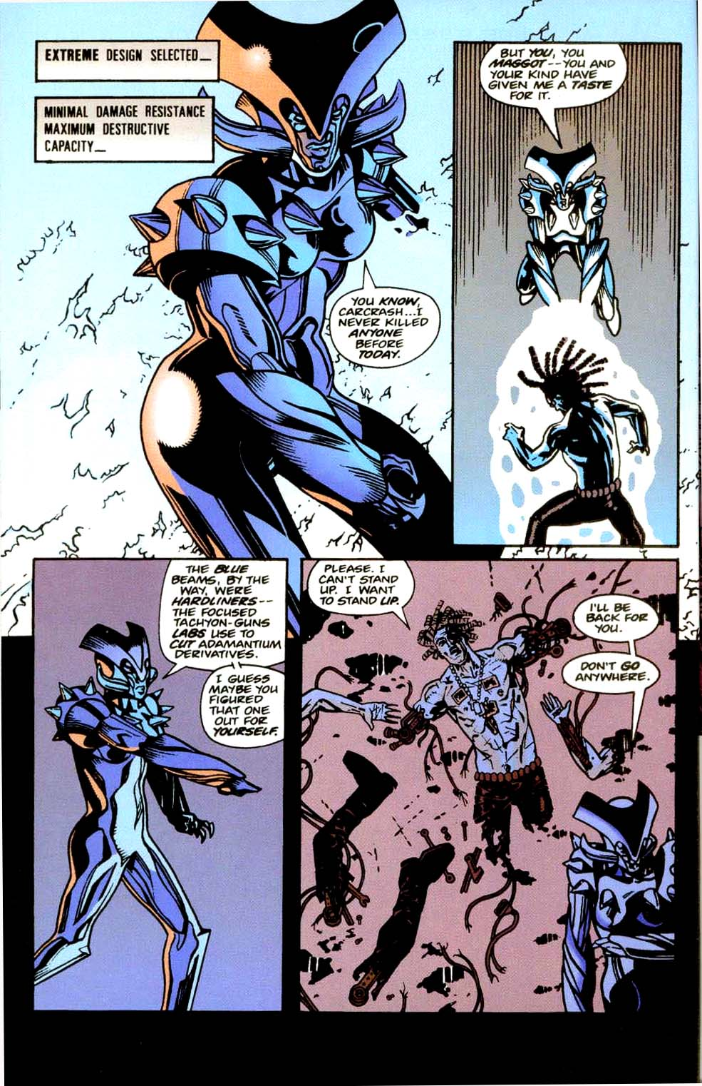 Read online 2099 Unlimited comic -  Issue #9 - 48