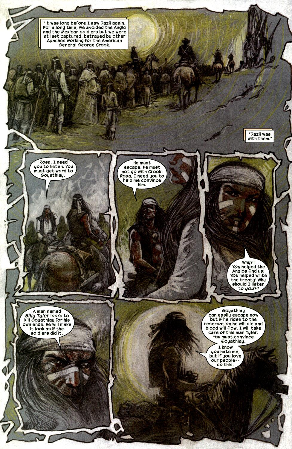 Read online Apache Skies comic -  Issue #2 - 19