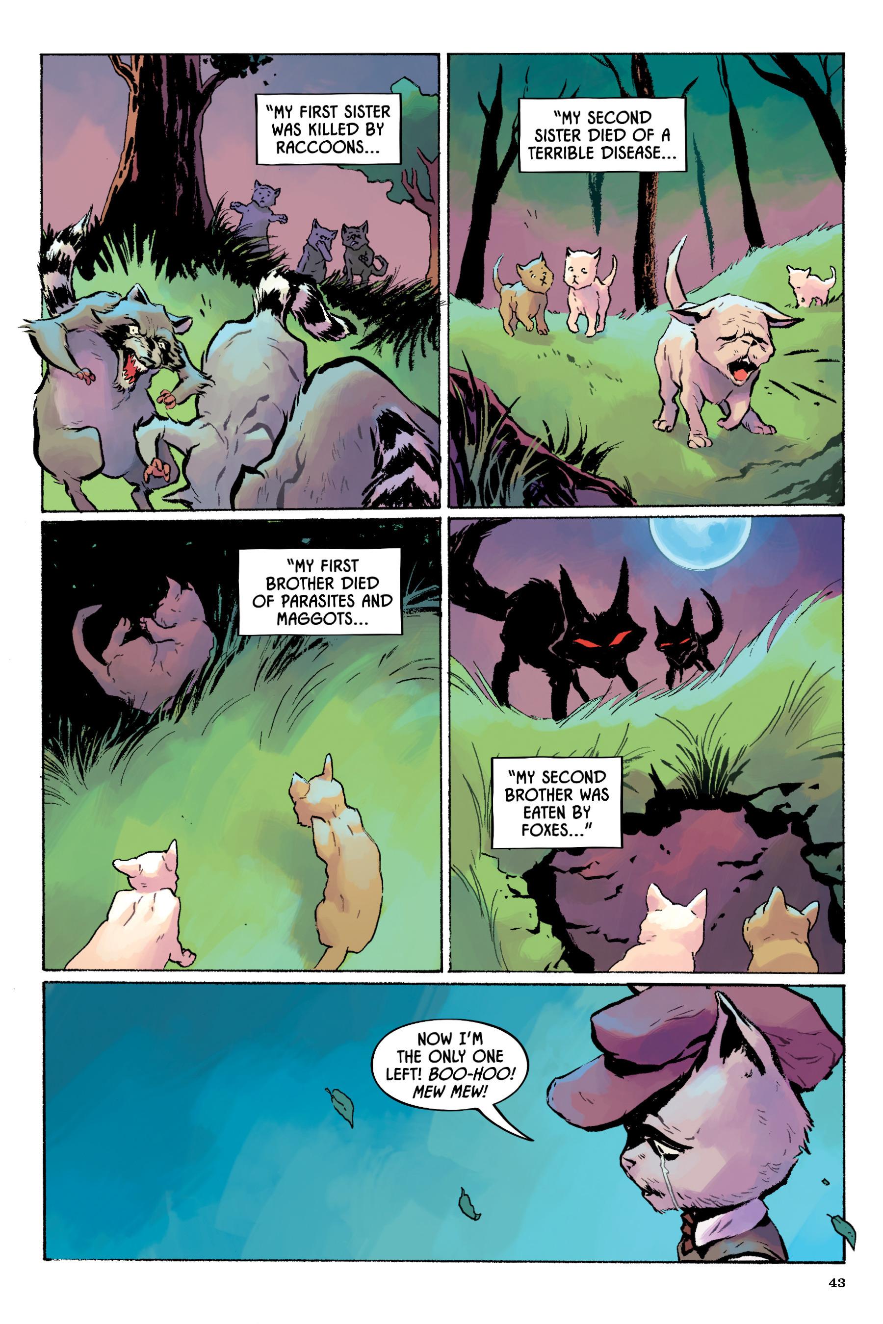 Read online Angel Catbird comic -  Issue # TPB 2 - 44