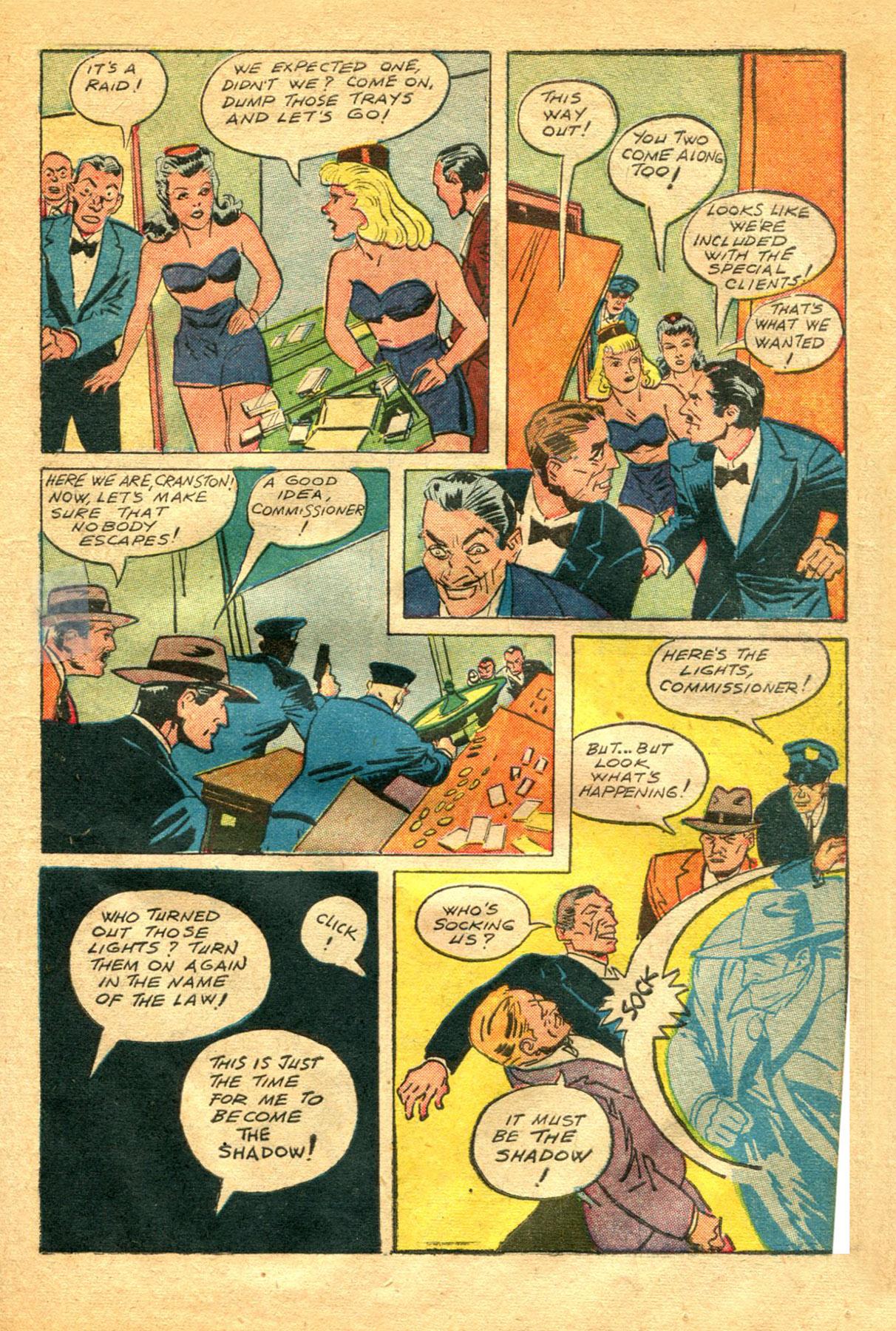 Read online Shadow Comics comic -  Issue #48 - 7