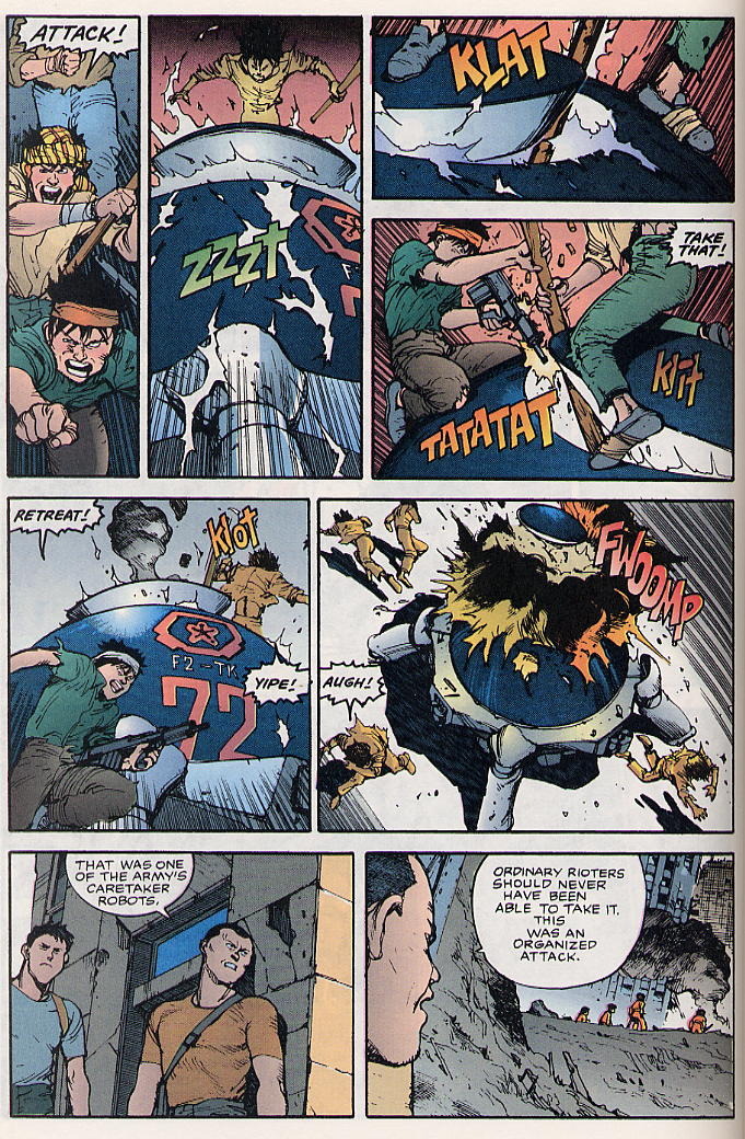 Read online Akira comic -  Issue #17 - 19