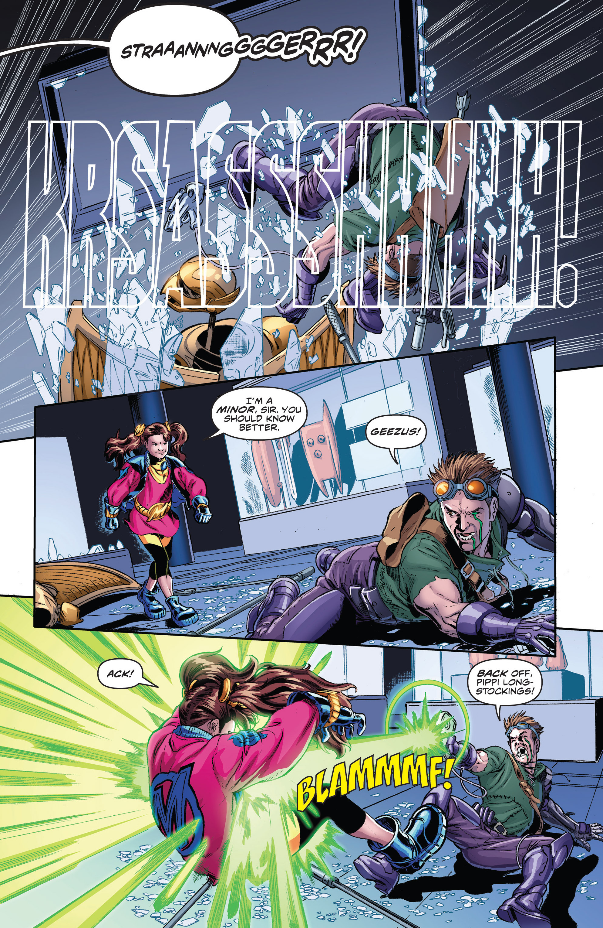 Read online Actionverse comic -  Issue #2 - 14