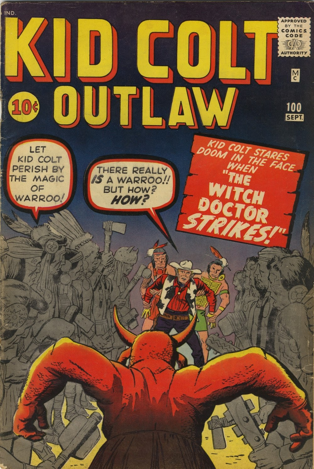 Kid Colt Outlaw issue 100 - Page 1