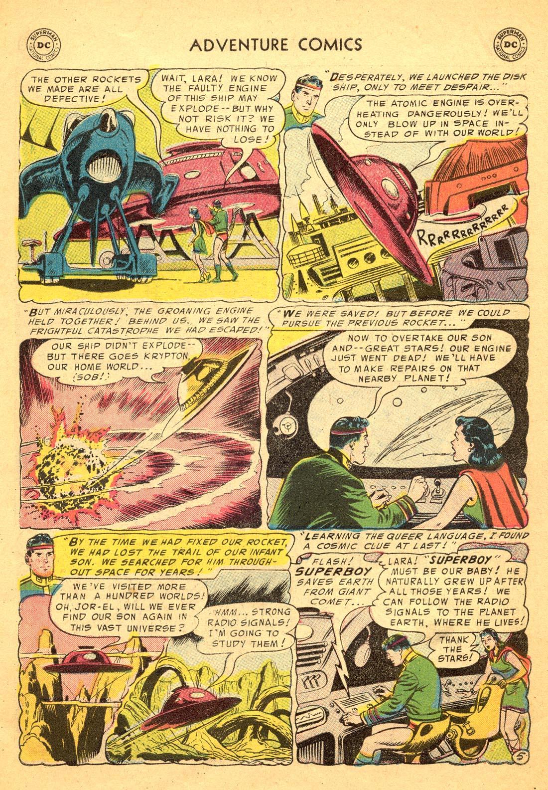 Read online Adventure Comics (1938) comic -  Issue #217 - 7