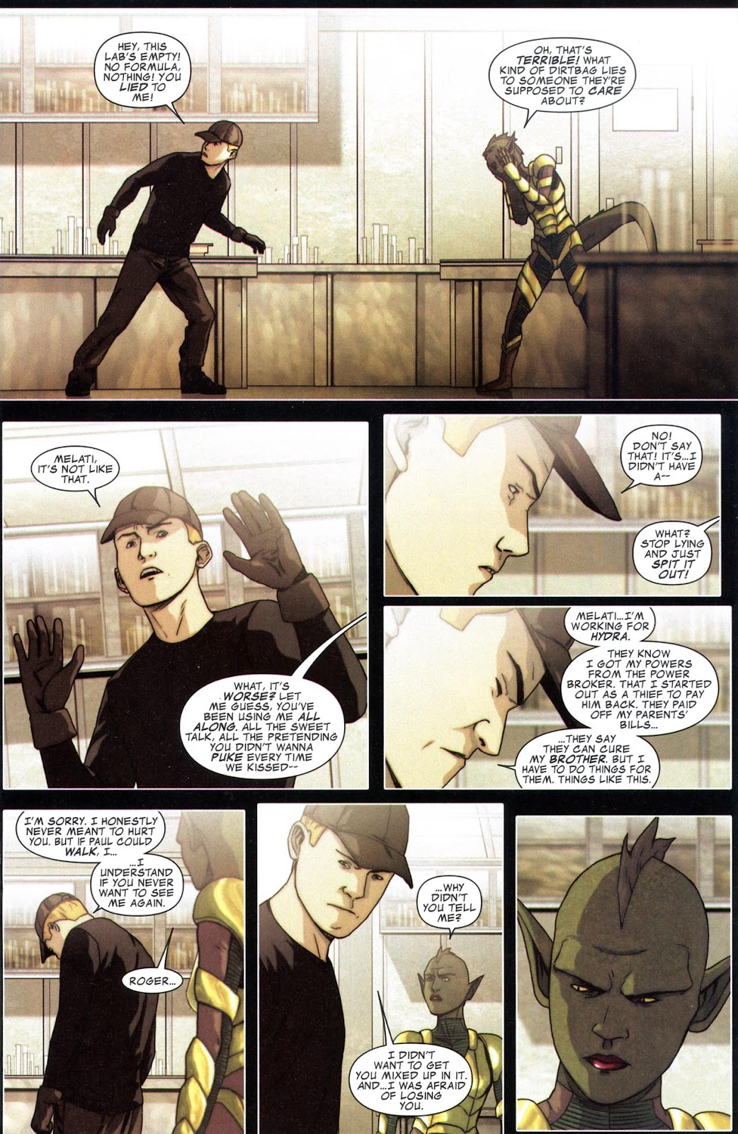 Read online Avengers: The Initiative comic -  Issue # _Special 1 - 22