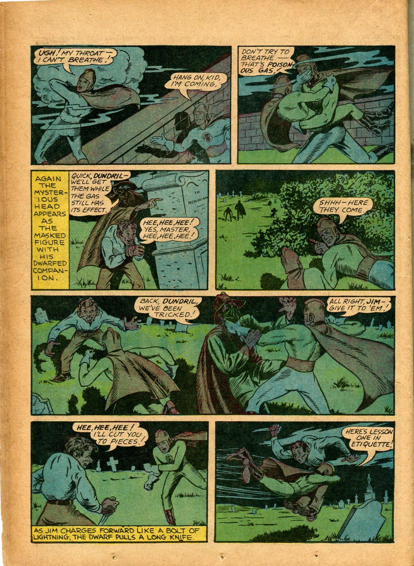 Read online Shadow Comics comic -  Issue #8 - 26