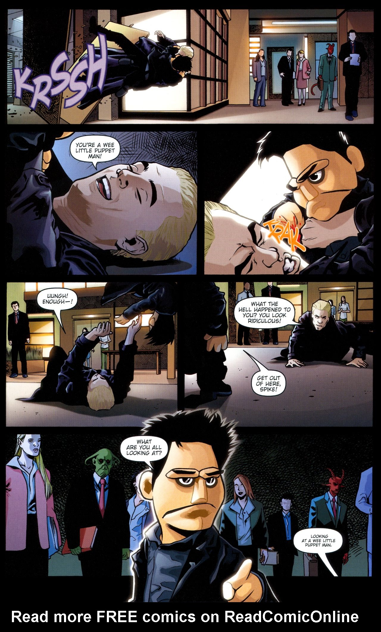 Read online Angel: Smile Time comic -  Issue #2 - 12