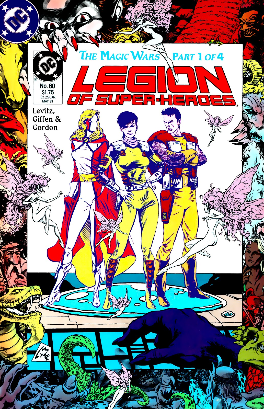 Legion of Super-Heroes (1984) 60 Page 1