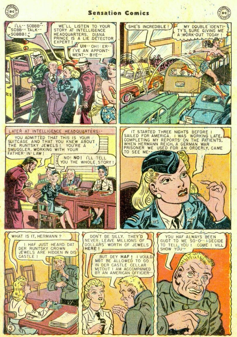 Read online Sensation (Mystery) Comics comic -  Issue #74 - 7
