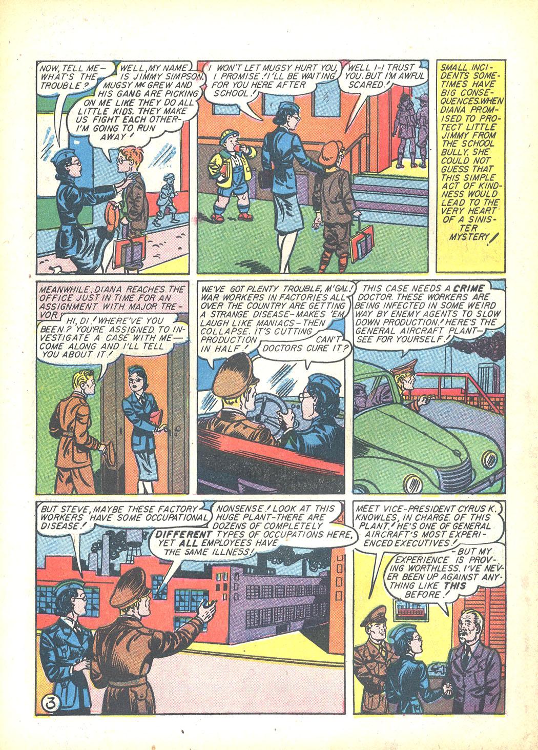 Read online Sensation (Mystery) Comics comic -  Issue #23 - 5