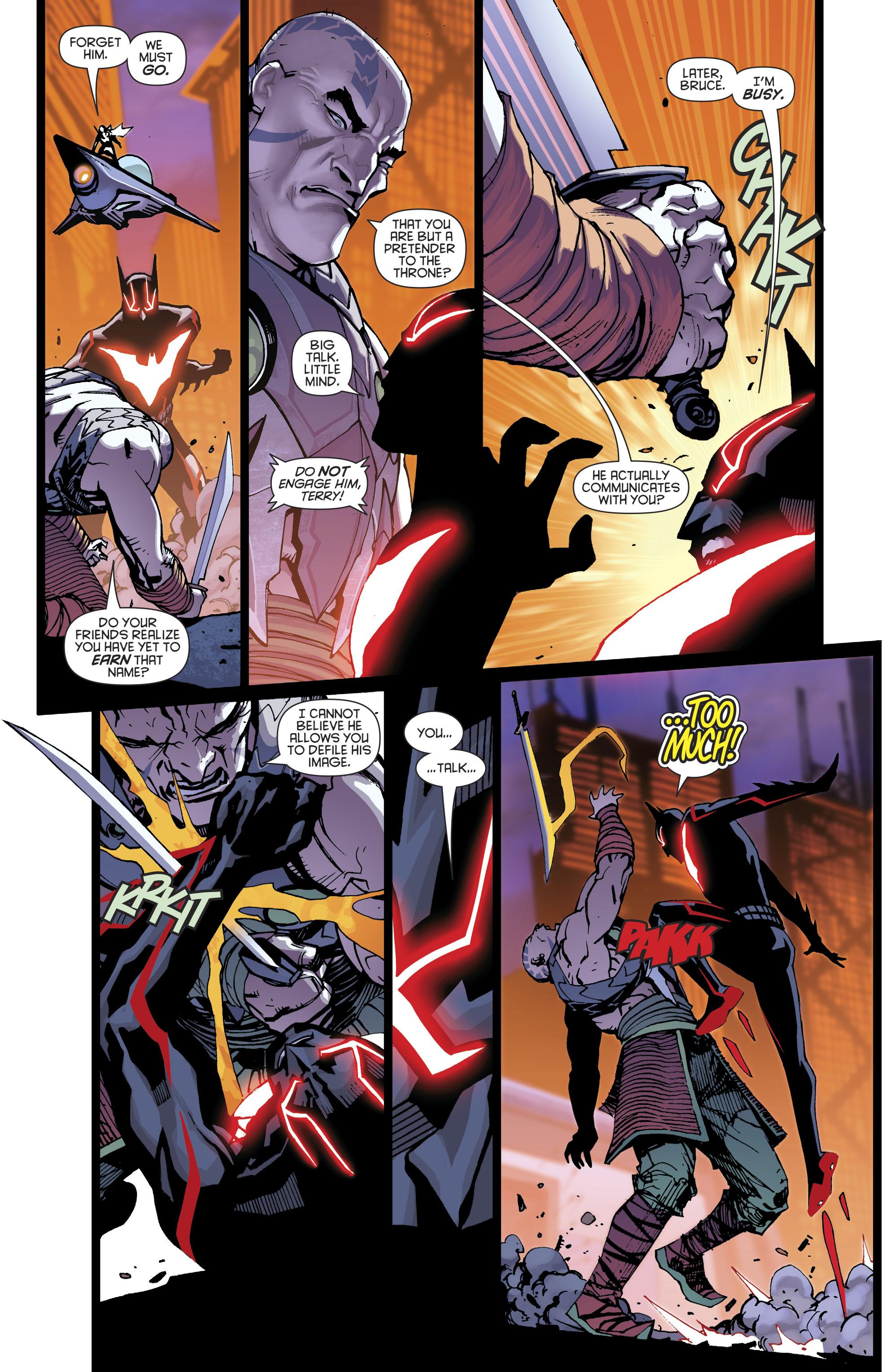 Read online Batman Beyond (2016) comic -  Issue #8 - 7