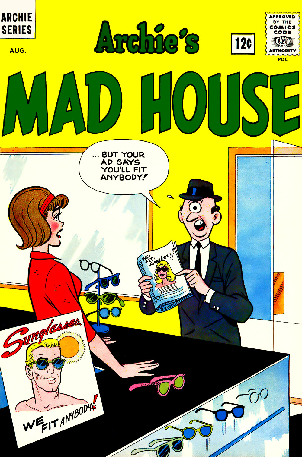 Archie's Madhouse issue 20 - Page 1
