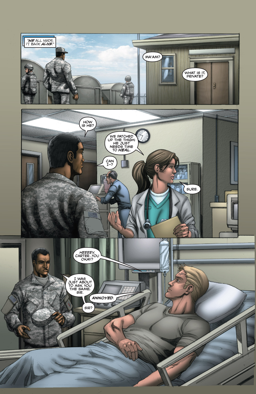 Read online America's Army comic -  Issue #13 - 20