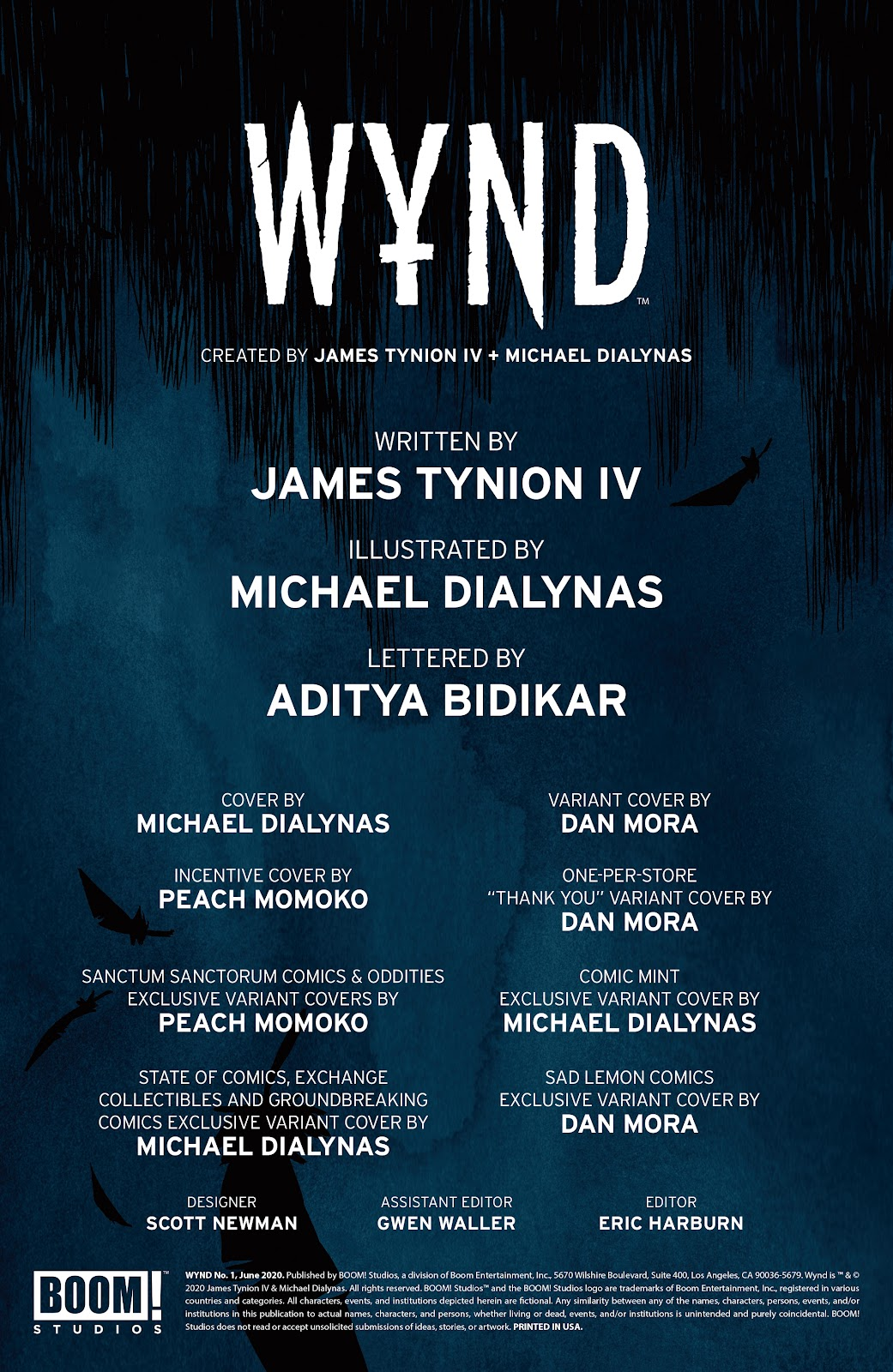 Read online Wynd comic -  Issue #1 - 2