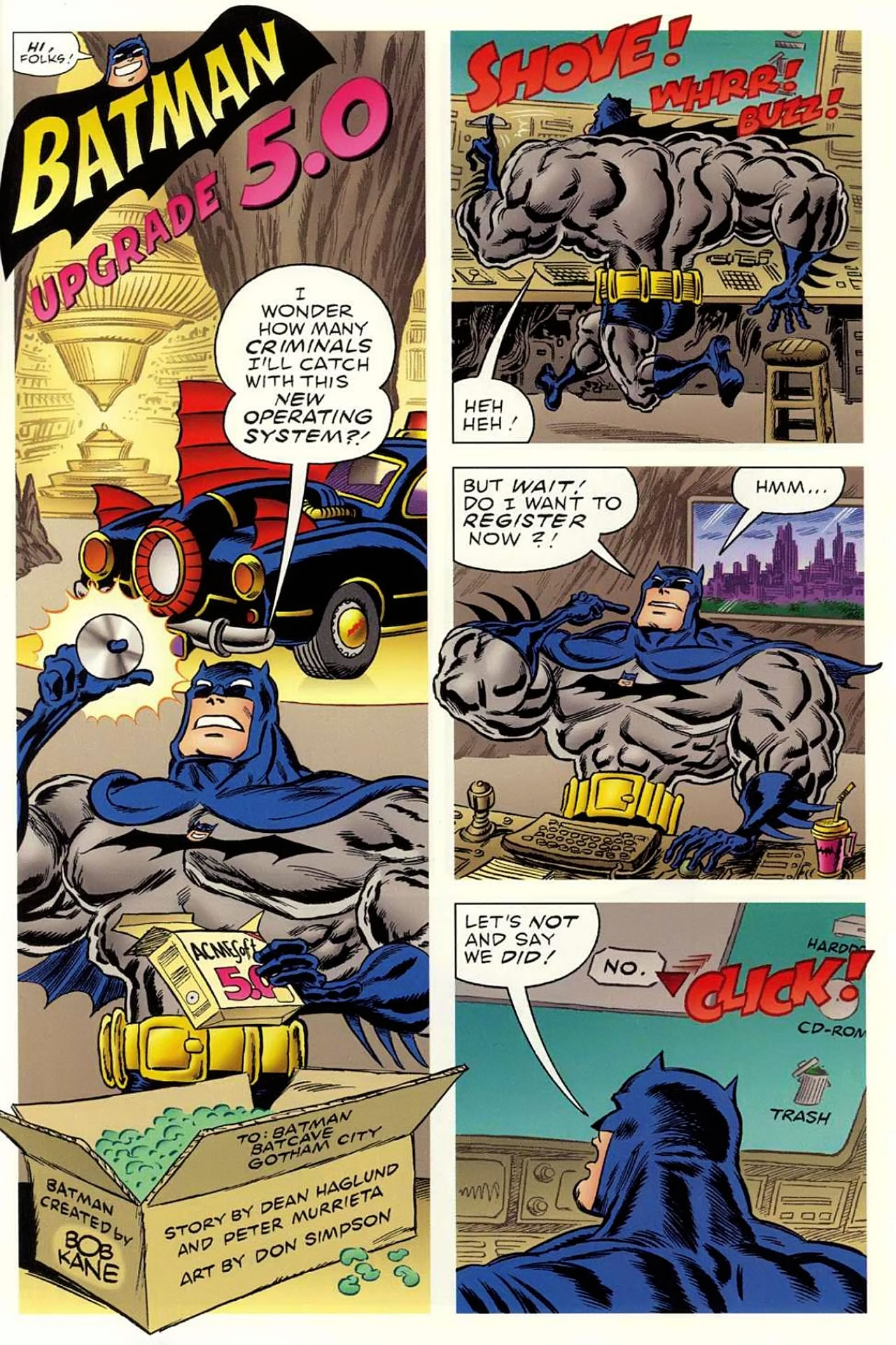 Read online Bizarro World comic -  Issue # TPB - 73