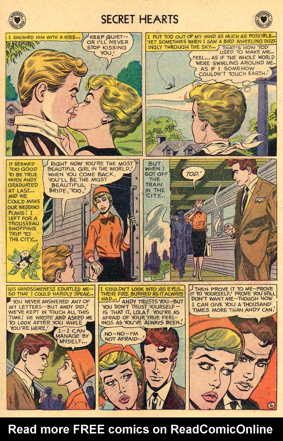 Read online Secret Hearts comic -  Issue #60 - 15