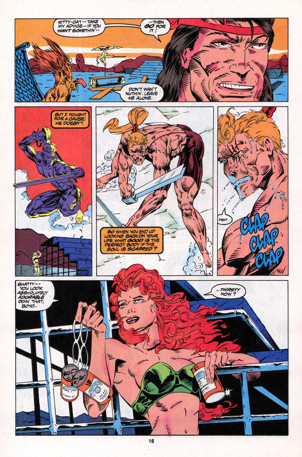 X-Force (1991) Issue #26 #31 - English 16