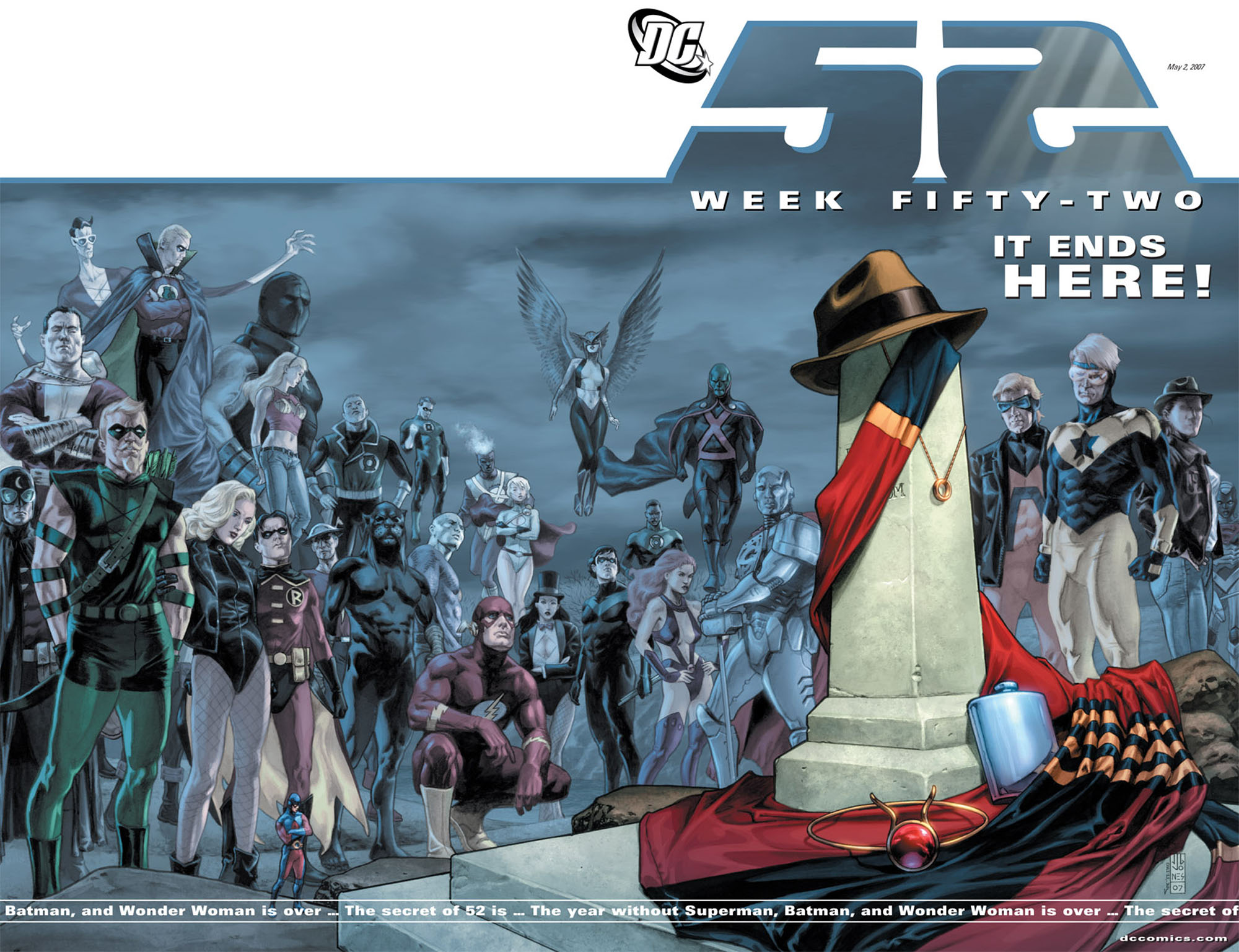 Read online 52 comic -  Issue #52 - 1