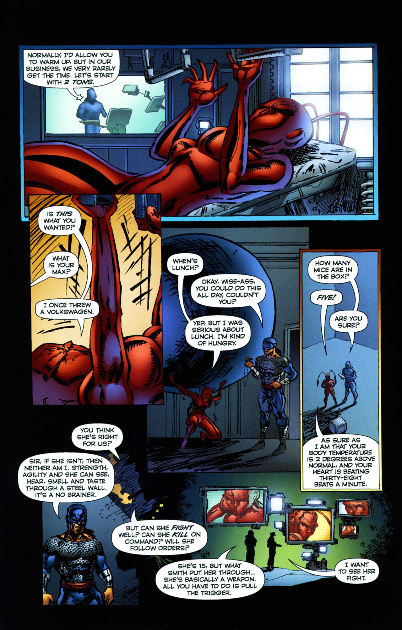 Read online Ant comic -  Issue #11 - 15