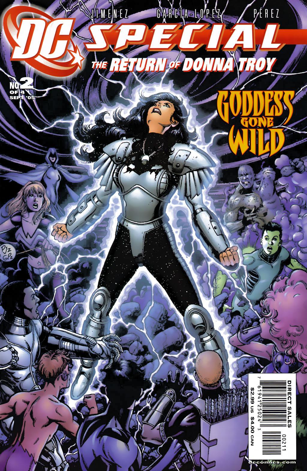 DC Special: The Return of Donna Troy 2 Page 1