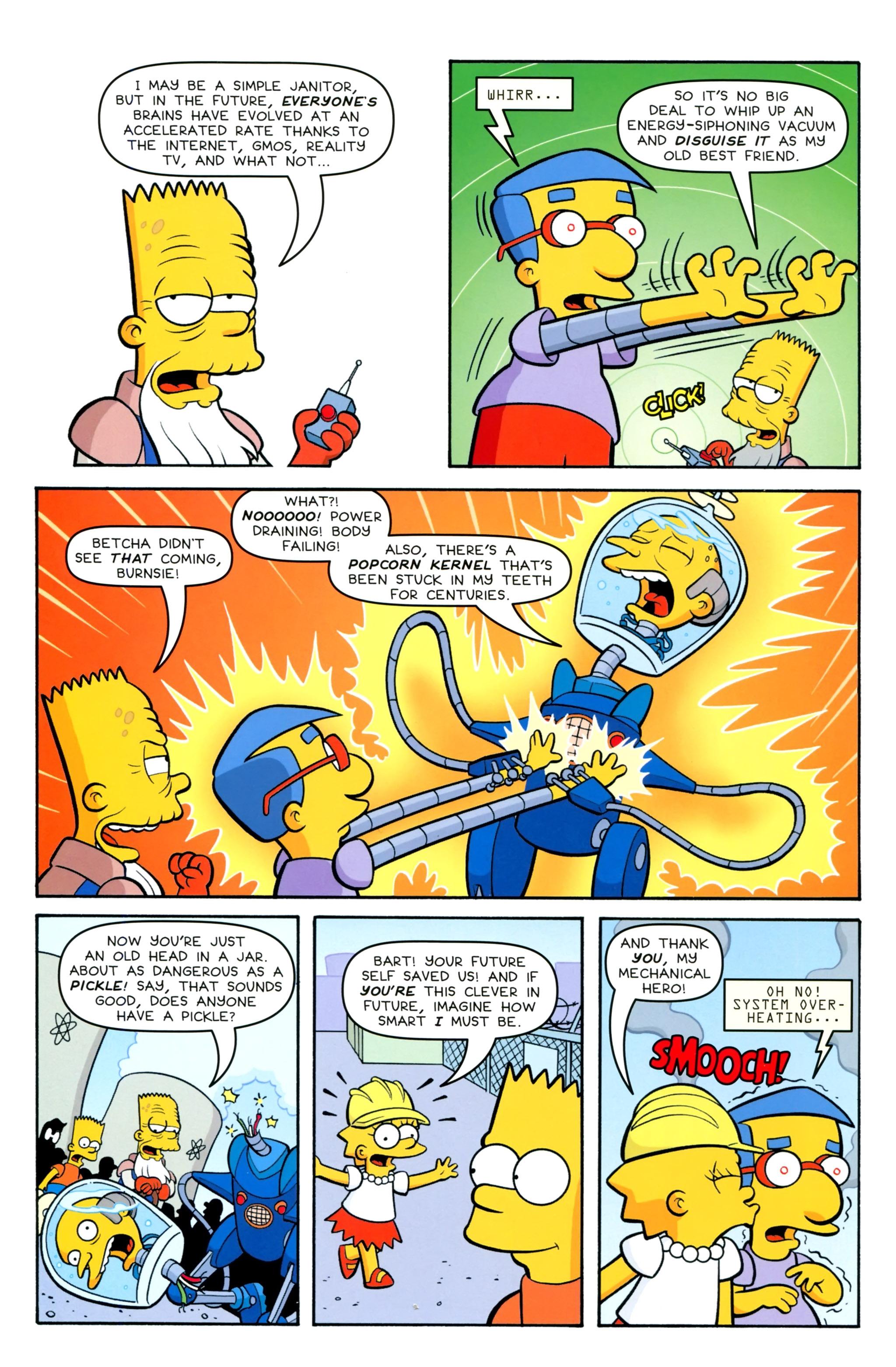 Read online Simpsons Comics Presents Bart Simpson comic -  Issue #100 - 37