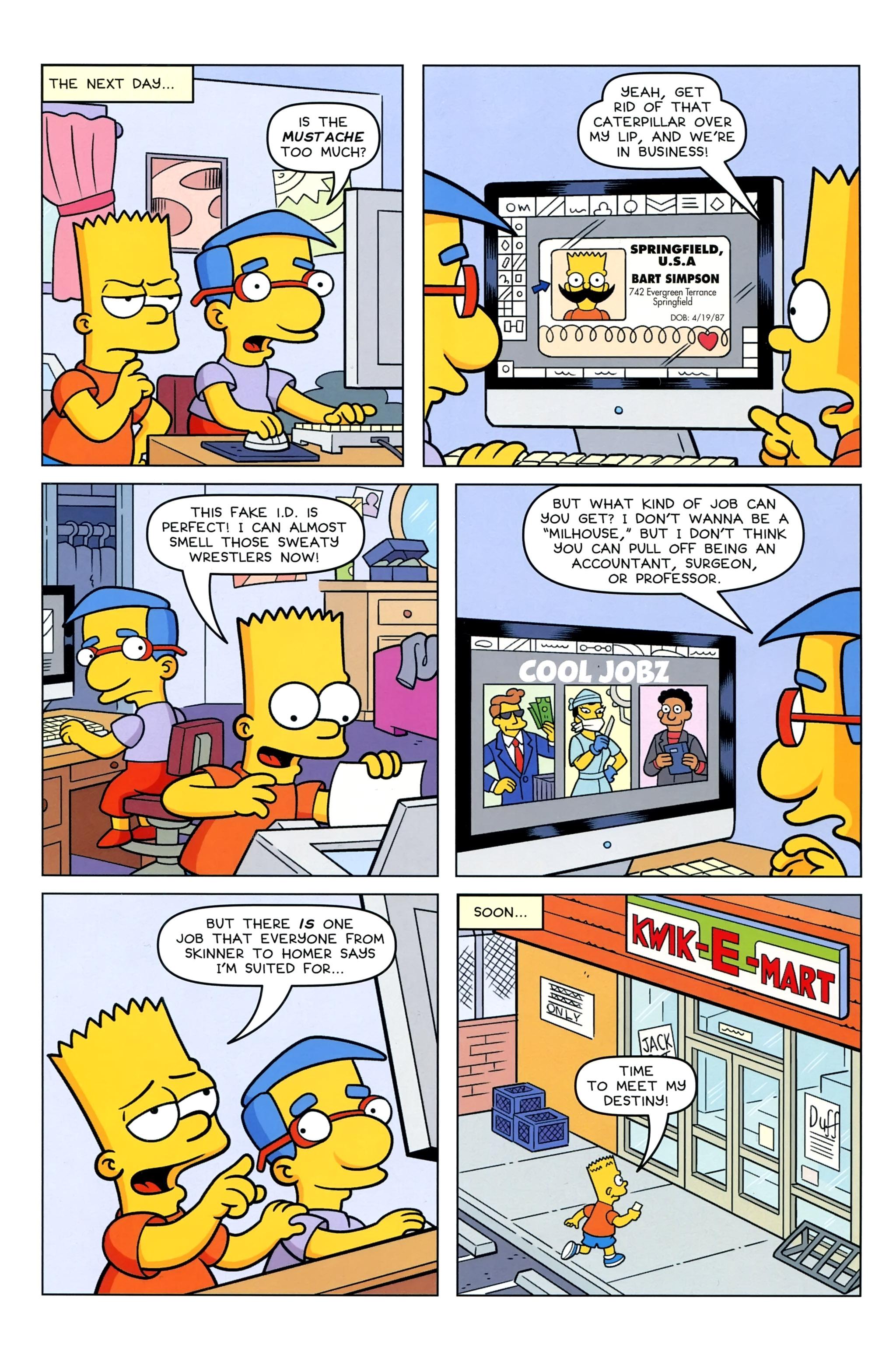 Read online Simpsons Comics Presents Bart Simpson comic -  Issue #95 - 4