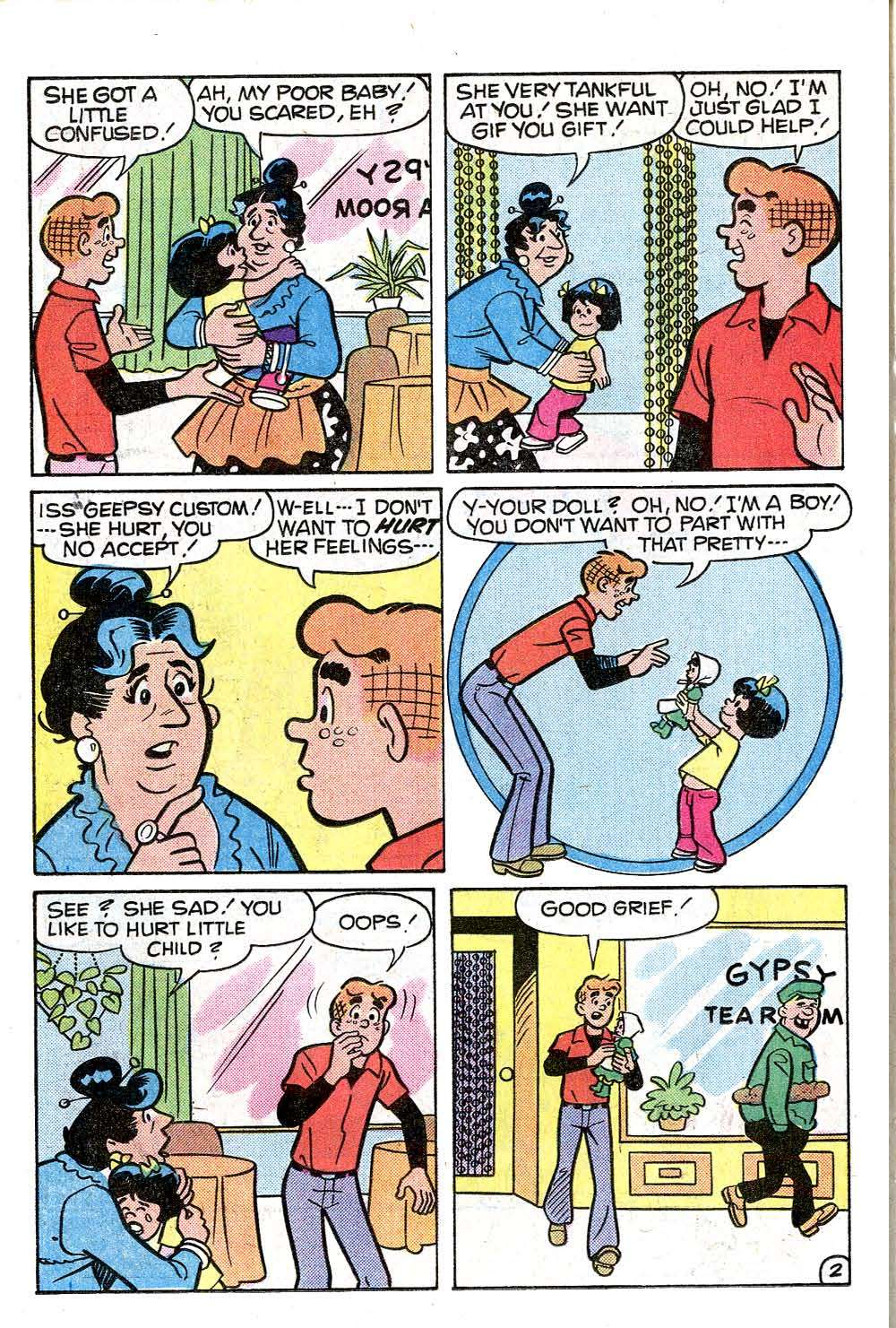Read online Archie (1960) comic -  Issue #273 - 14