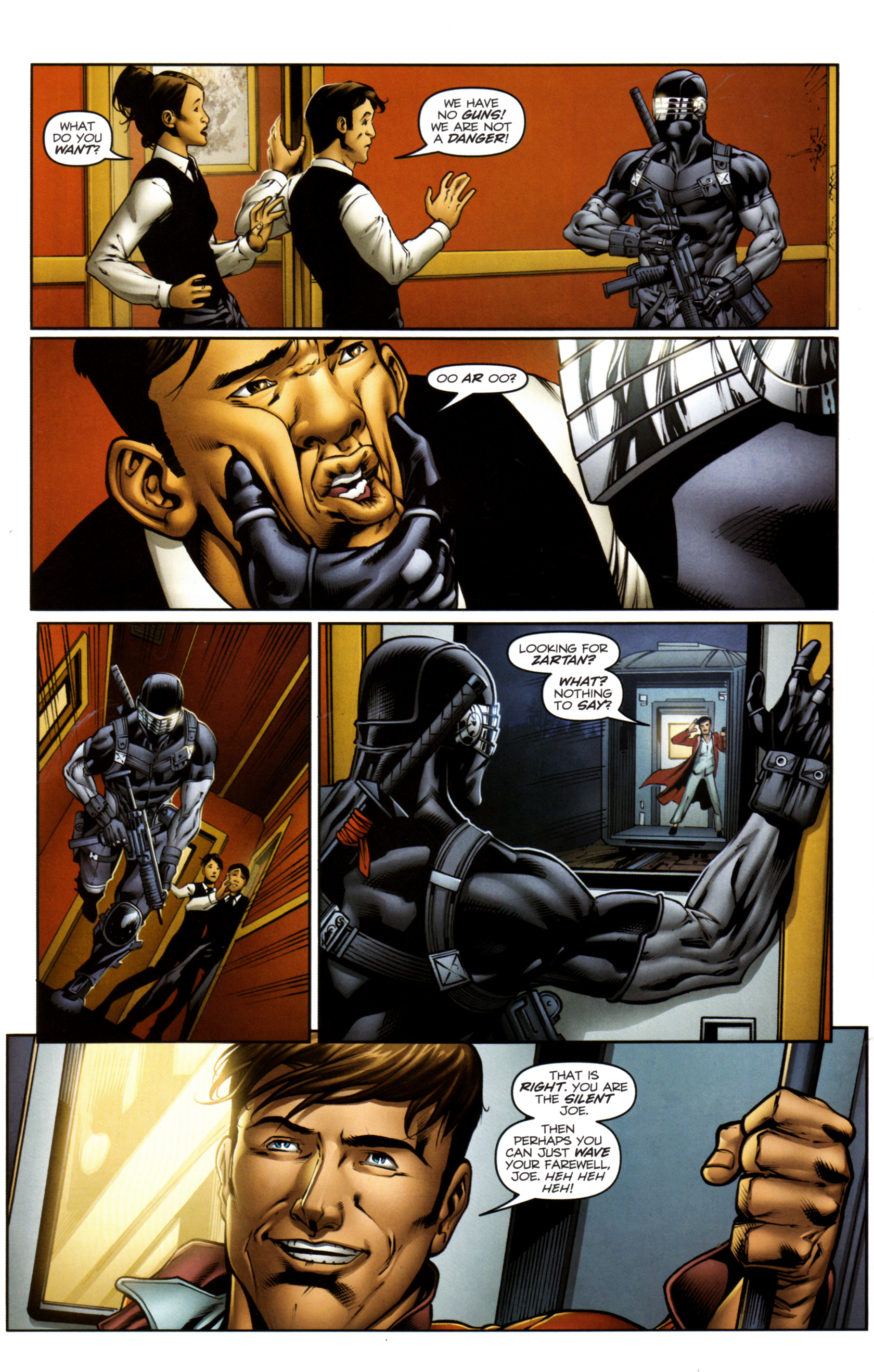 Read online Snake Eyes and Storm Shadow comic -  Issue #13 - 23